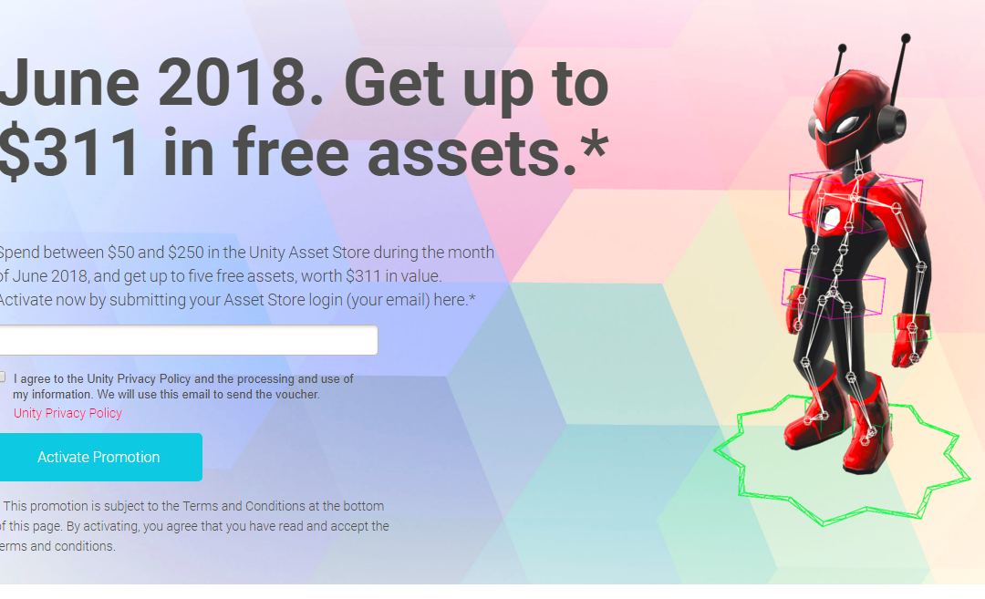 DEALS: Get more than $300 in free assets from UNITY!