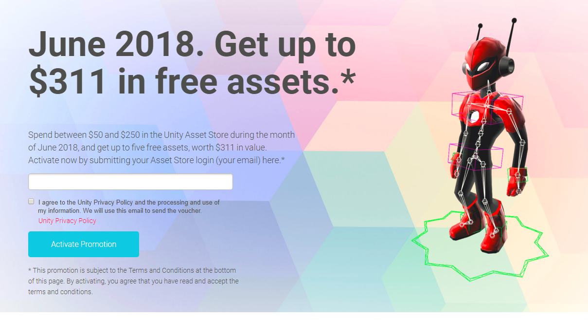 DEALS: Get more than $300 in free assets from UNITY! - Virtual