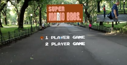 An awesome AR version of Super Mario Bros.