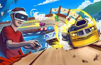 Arcade Slot Car Racer 'Tiny Trax' Launches on PlayStation VR