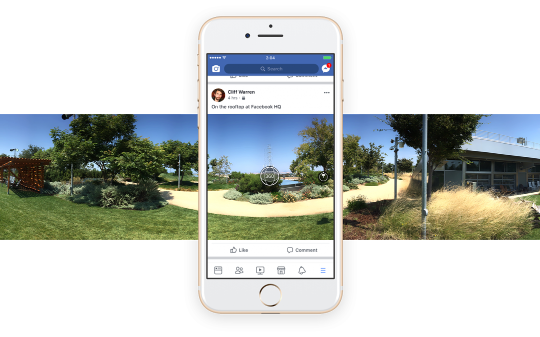 Facebook Now Lets You Take 360 Photos From Within App